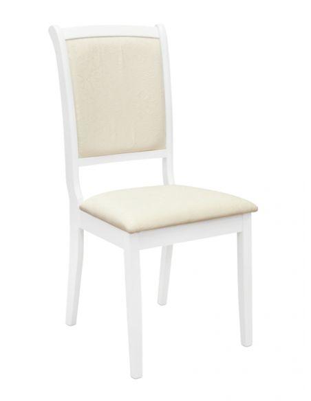 Стул Джи-Джи белый ткань