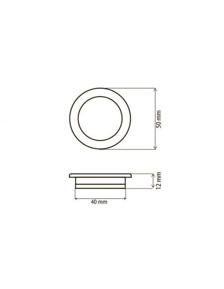 Ручка MD0106 металл сатин