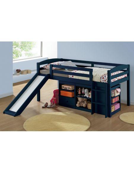 Кровать Бамбино 0,9х2,0 лагуна