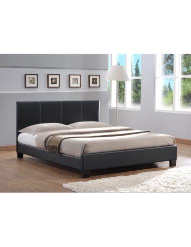 Кровать Джаспер 1,6х2,0 черный дерево
