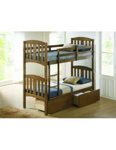 Кровать Мальвина 0,8х1,9 рустикаль