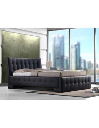 Кровать Барселона 1,6х2,0 черный