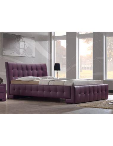Кровать Барселона 1,6х2,0 фиолетовый