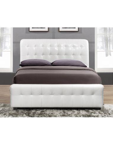 Кровать Камалия 1,6х2,0 крем
