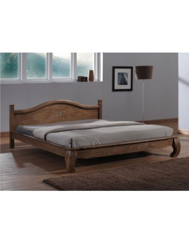 Кровать Жизель 1,8х2,0 дуб рустикаль