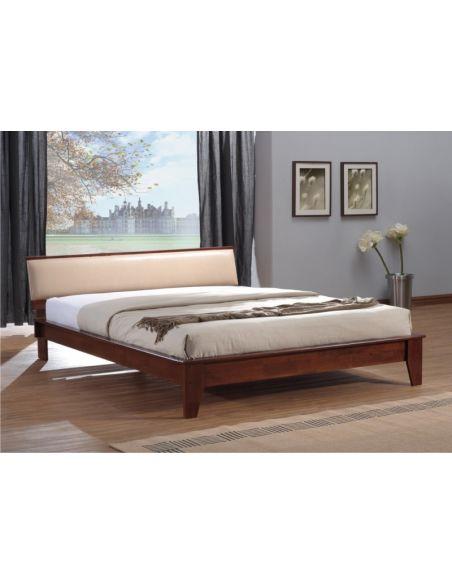 Кровать Шарлотта 1,6х2,0 люкс каштан