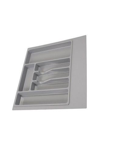 Лоток серый для кухонных аксессуаров VOLPATO