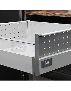 Перфорированная боковина для Modern Box серая