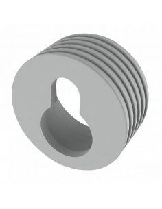 Навес пластиковый врезной белый Ф20мм