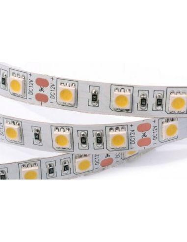 Лента LED 5050 теплый белый (неизол.) 14,4Вт./м.п. 60LED/м.п.