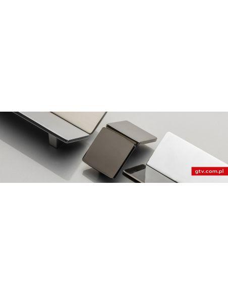 Ручка GTV UZ-Hill Хром черный