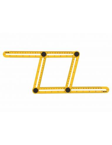 Шаблон-линейка Vorel для переноса размеров 310*175*25 (18470)