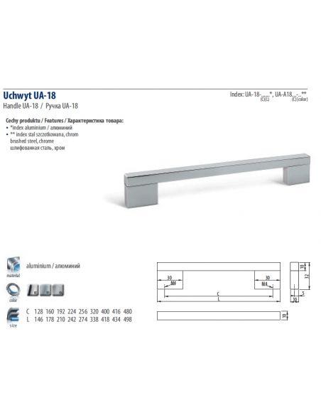Ручка GTV UA-A18