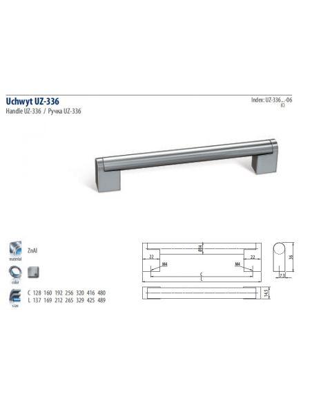 Ручка GTV UZ-336