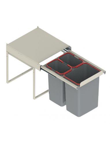 Ведро-сегрегатор для мусора JC606 на...