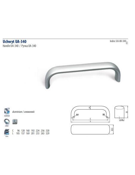 Ручка GTV WPY340 (UA-00-340)