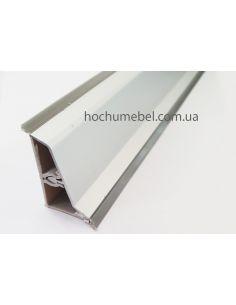 Плинтус Z форма алюминий 4м