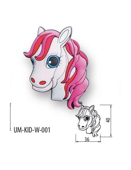 Ручка GTV резиновая UM-KID-W-001 лошадка