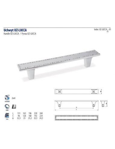 Ручка GTV LUCCA /160 (UZ-LUCCA 160-01)