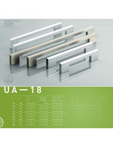 Ручка GTV UA-A18 INOX
