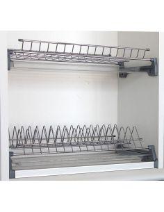 Сушка кухонна хромована REJS Variant 3 з піддонами
