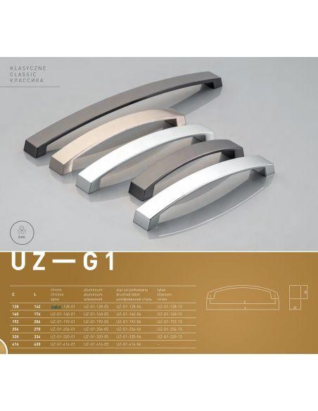 Ручка GTV UZ-G1 Титан