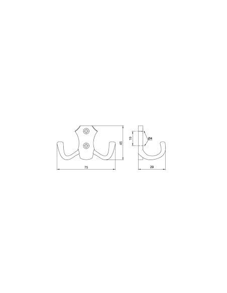 Крючок GTV WP-8903