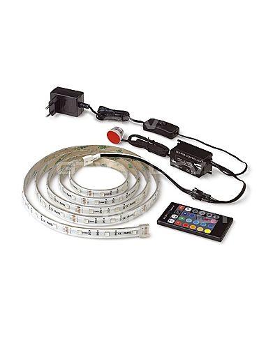 Компл. LED подсветки RGB/2м(LD-ZL2M-RGB-00) (контроллер,пульт,лента,блок питания,инфракрасный датчик) GTV
