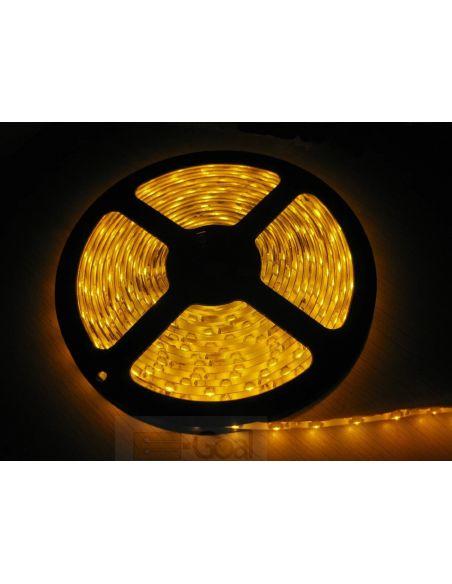 Лента LED SMD желтый (изолир.) IP65 8мм 60диодов/м 4,8вт/м.п. GTV LD-TLWOZY-00