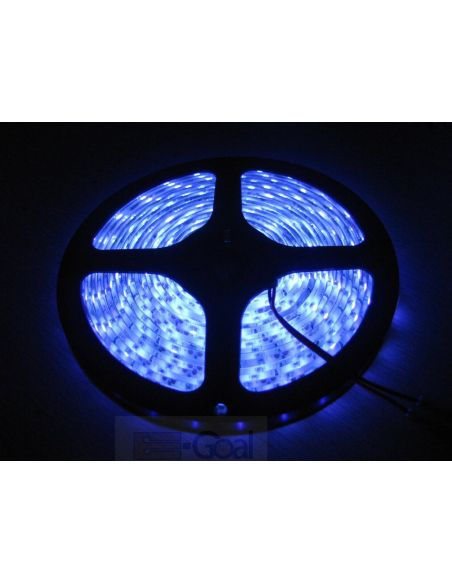 Лента LED SMD синий (изолир.) 8мм 60диодов/м 4,8вт/м.п. GTV LD-TLWNIE-00