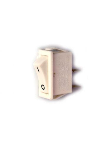 Выключатель врезной белый