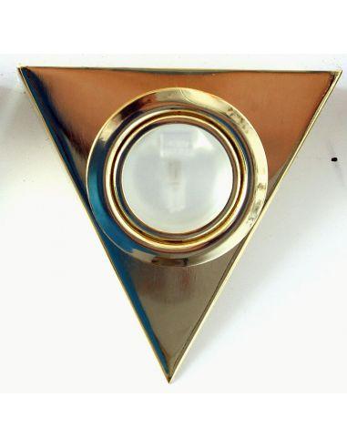 Подсветка треугольная золото