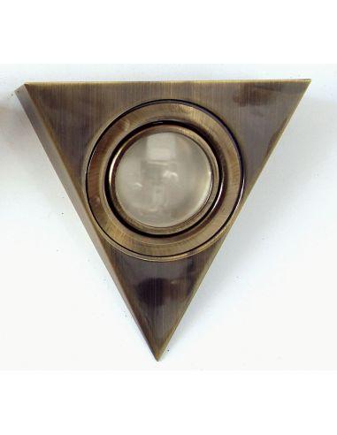 Подсветка треугольная латунь