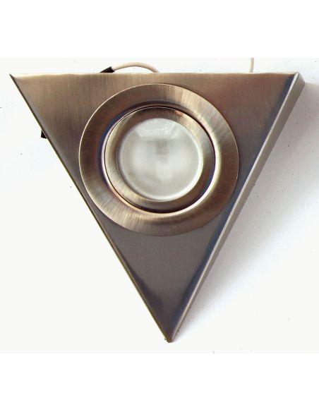 Подсветка треугольная сатин