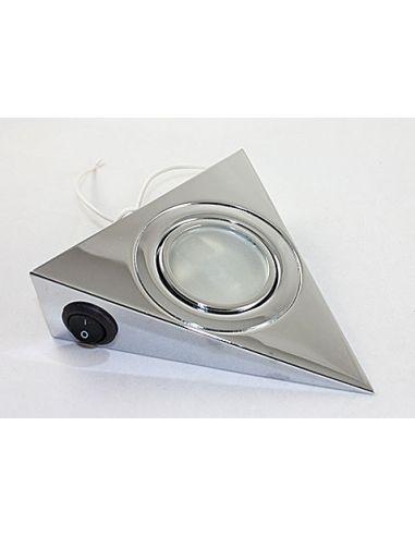 Подсветка треугольная хром