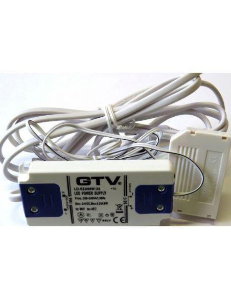 Трансформатор LED 6W с выключателем GTV
